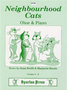 Joan Swift: Neighourhood Cats for oboe & piano