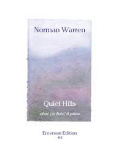 Warren, Norman: Quiet Hills for oboe (or flute) & piano