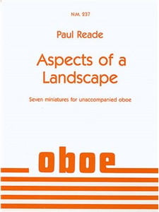 Paul Reade: Aspects of a Landscape for oboe
