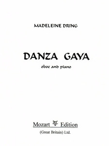 Dring, Madeleine: Danza Gaya - Oboe & Piano