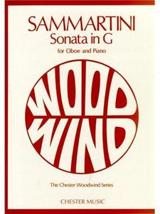 Sammartini, Giovanni Battista: Sonata in G for oboe and piano