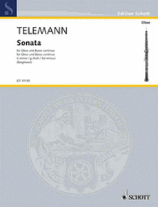 Telemann: Sonata in G minor for oboe & piano