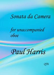 Paul Harris: Sonata da Camera - oboe