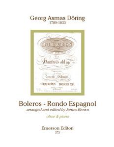 Döring, Georg Asmas: Boleros: Rondo Español for oboe & piano