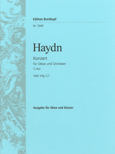 Haydn - Concerto for Oboe and Orchestra in C major (piano reduction edition)