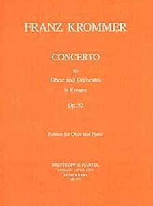 Franz Krommer: Oboe Concerto in F Op 52