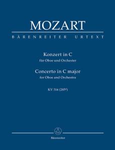 Mozart  - Concerto for Oboe in C (K.314) (K.285d) (Urtext)