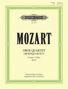 Wolfgang Amadeus Mozart: Oboe Quartet in F major K370