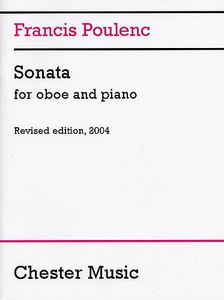 Francis Poulenc: Sonata for Oboe and Piano (Revised edition, 2004)