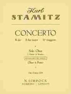 Stamitz, Carl Philipp: Oboe Concerto in Bb major