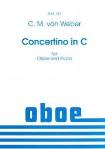Carl Maria von Weber: Concertino for Oboe & Piano