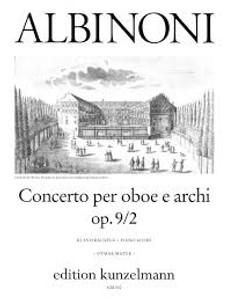 Tomaso Albinoni: Oboe Concerto in Dmin Op. 9/2 Oboe & piano