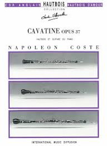 Coste: Cavatine Op. 37 for oboe and guitar or piano