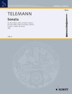 Georg Philipp Telemann: Sonata E minor Oboe