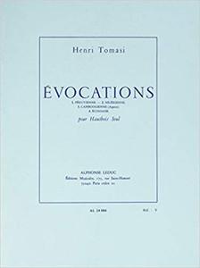 Tomasi, Henri: Evocations (Oboe solo)