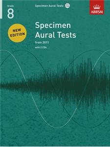 ABRSM: Specimen Aural Tests, Grade 8 with 2 CDs