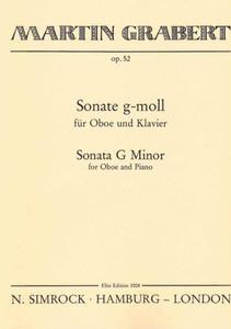 Martin Grabert: Sonata in G Minor Op. 52