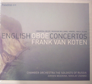 English oboe concertos with frank van koten