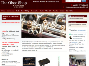 Welcome to the new look Oboe Shop!