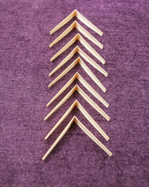 Du Var gouged & shaped oboe cane (10 pieces)