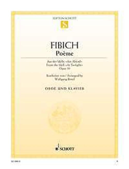 Fibich, Zdenek: Poème op. 39 - oboe & piano