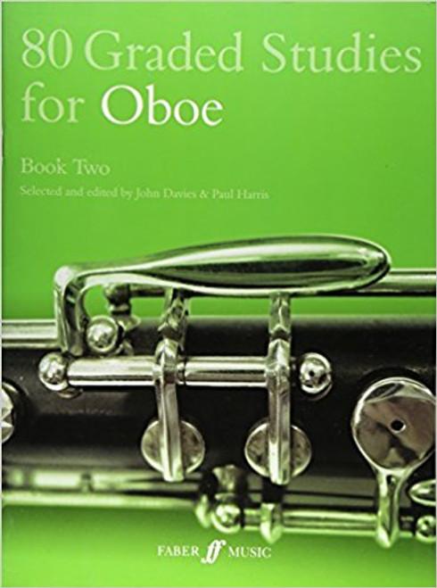 80 Graded Studies for Oboe Book 2