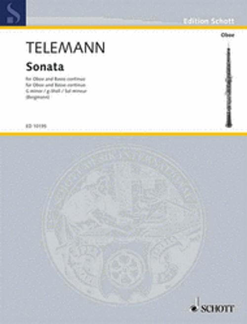 Telemann: Sonata in G minor for oboe & piano