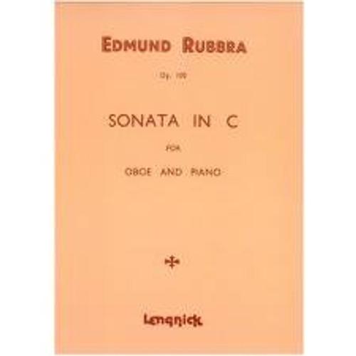 Edmund Rubbra: Sonata in C major, Op. 100 for oboe & piano