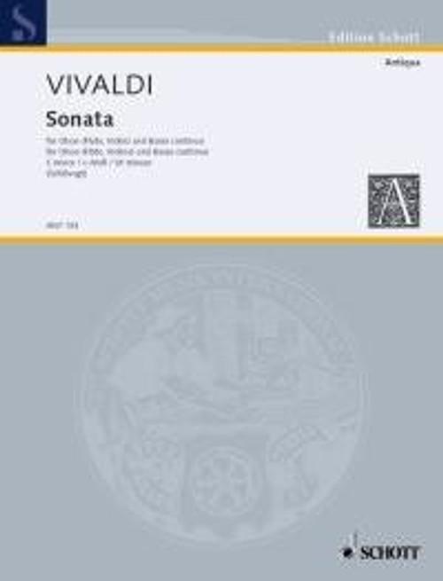Antonio Vivaldi: Sonata in C minor for oboe & piano