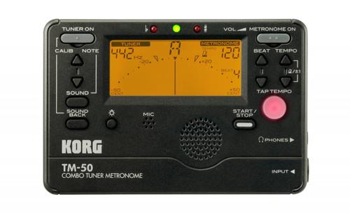 KORG TM-50 Combo Tuner Metronome - Chromatic