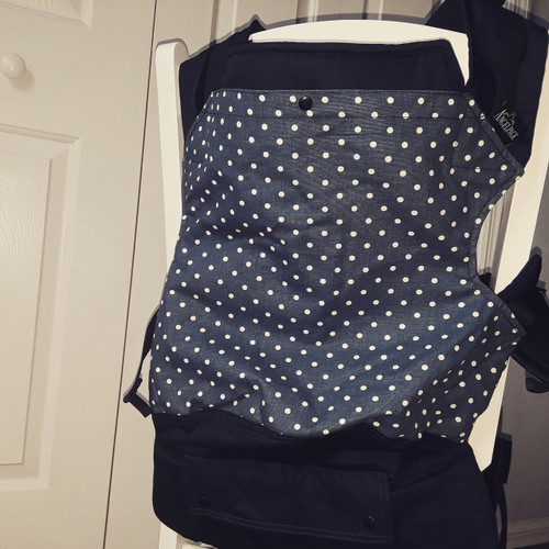 Navy Dots Pre-school/ Toddler AngelPack NA