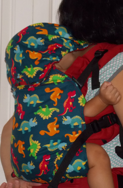 This Adorable Baby Carrier  comes with the recipe for cuteness that goes with the baby who will ride in comfort and style. GROW baby Carriers do GROW with your baby, this is the one single soft structured carrrier you will need from baby to toddlerhood and a little beyong.    Features:   Adjustable Shoulder straps lenght.  Adjustable carrier body height.   Adjustable width.   Waist Pocket.       Weight Limit:   For babies and toddlers 8-40 pounds.      Fabric Content:   100% Cotton printed fabric  and solid straps and body.     Washing Instructions:   Hand Wash and Hang Dry.   No Clorene.