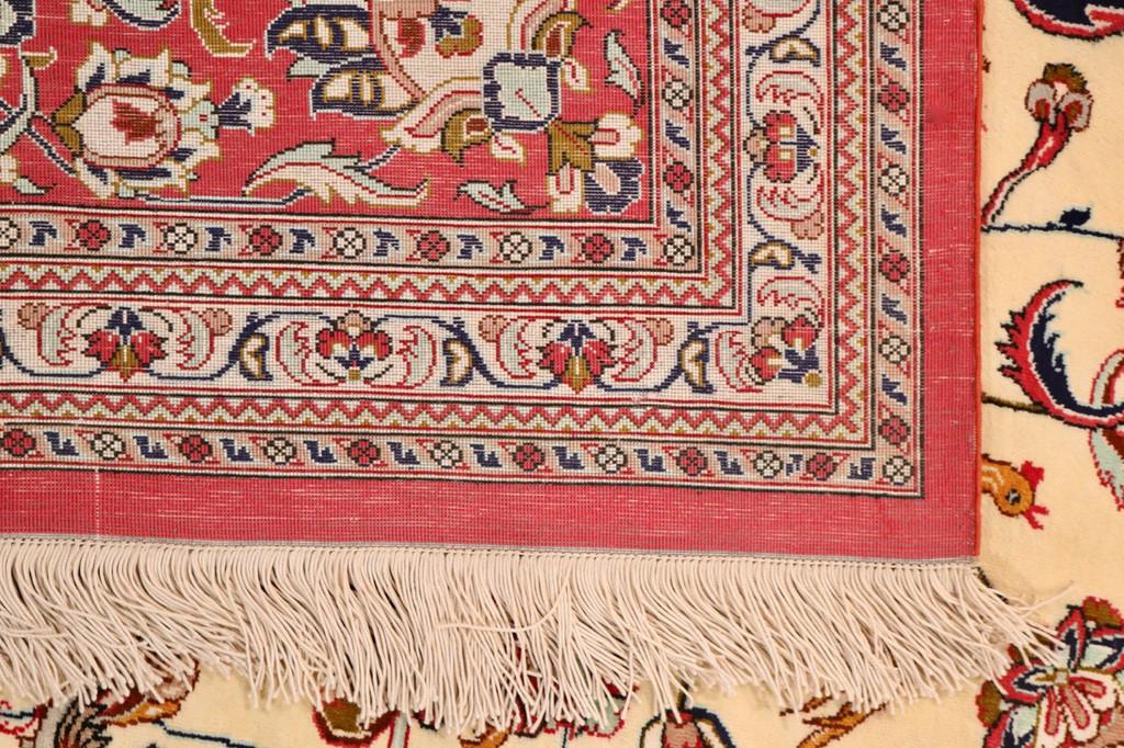 Pure Silk Qum Persian Rug (Ref Q1) 350x250cm