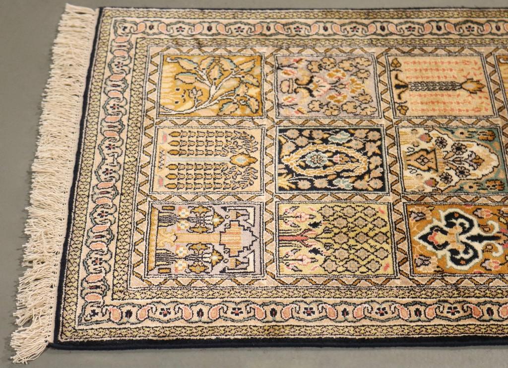 Kashmir Pure Silk Rug (Ref 0562) 160x95cm