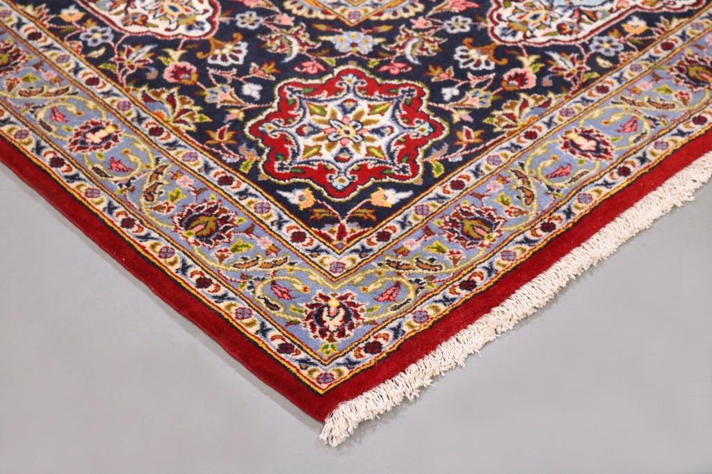 Kashan Lambswool & Silk Fine Persian Rug (Ref 287) 405x300cm