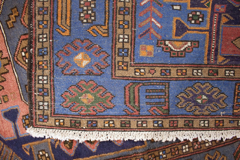 Hamadan Zanjan Vintage Persian Rug (Ref 40687) 202x133cm