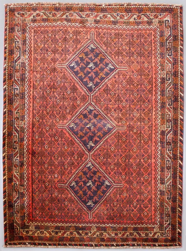 Shiraz Qashqai Vintage Persian Rug (Ref 7319) 314x223cm