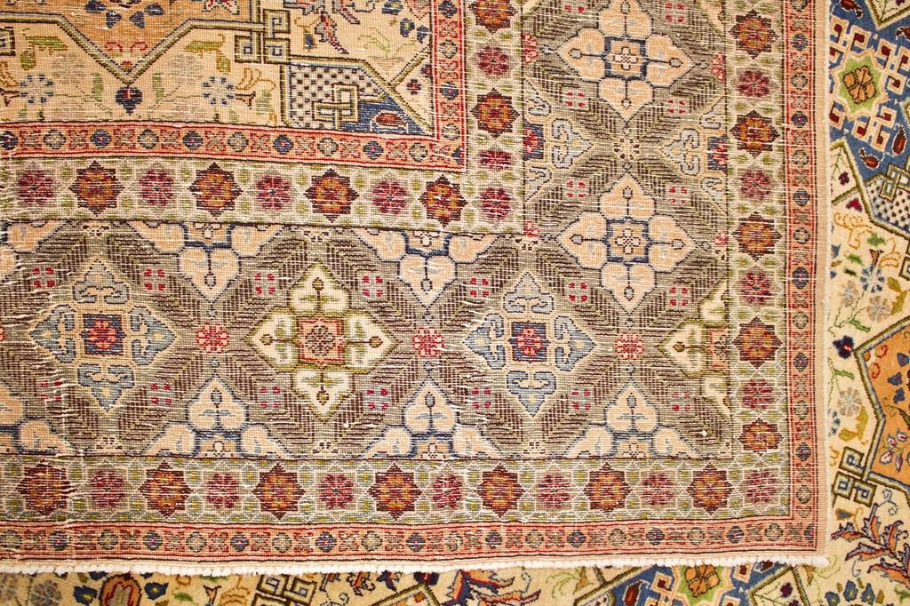 Kashan Fine Vintage Persian Rug (Ref 1) 383x303cm