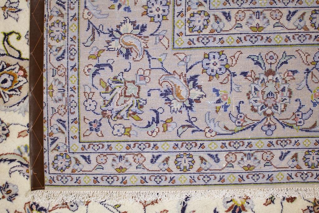 Kashan Ivory Persian Rug (Ref 111) 350x246cm