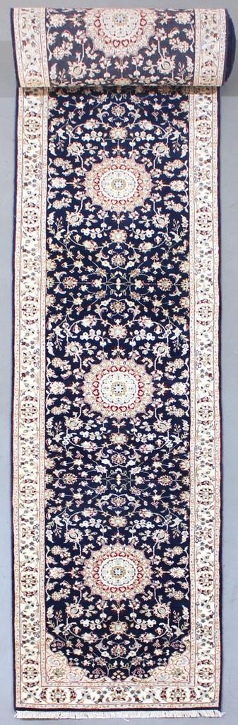 Nain Fine Blue Jaipur Runner (Ref 82) 695x84cm