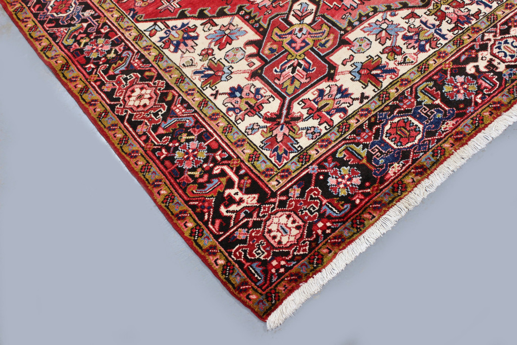 Heriz Vintage Persian Rug (Ref 60) 307x213cm