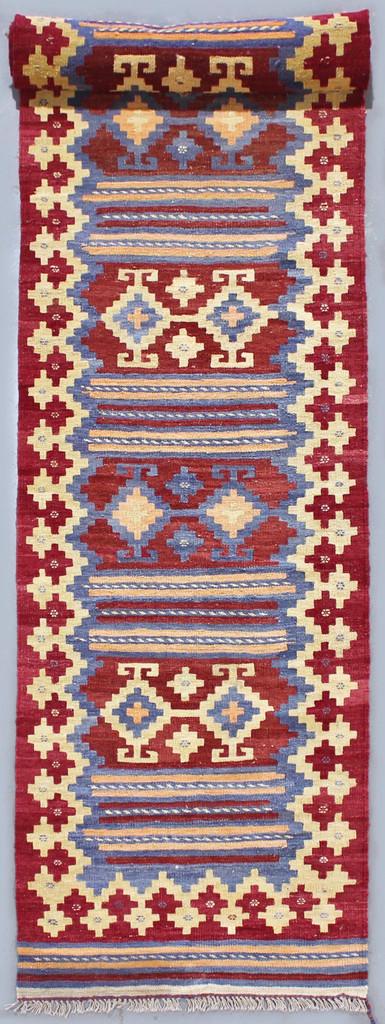 Kyber Vintage Afghan Kilim Runner (Ref 2732) 430x84cm