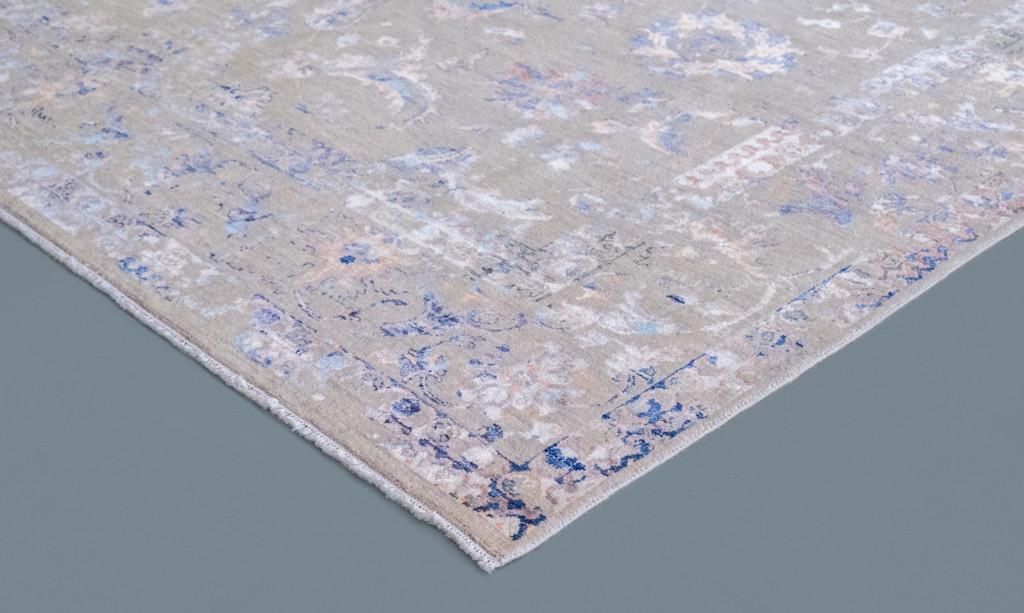 Transitional  Fine Wool and Silk Jaipur Rug (Ref 2.1) 356x270cm