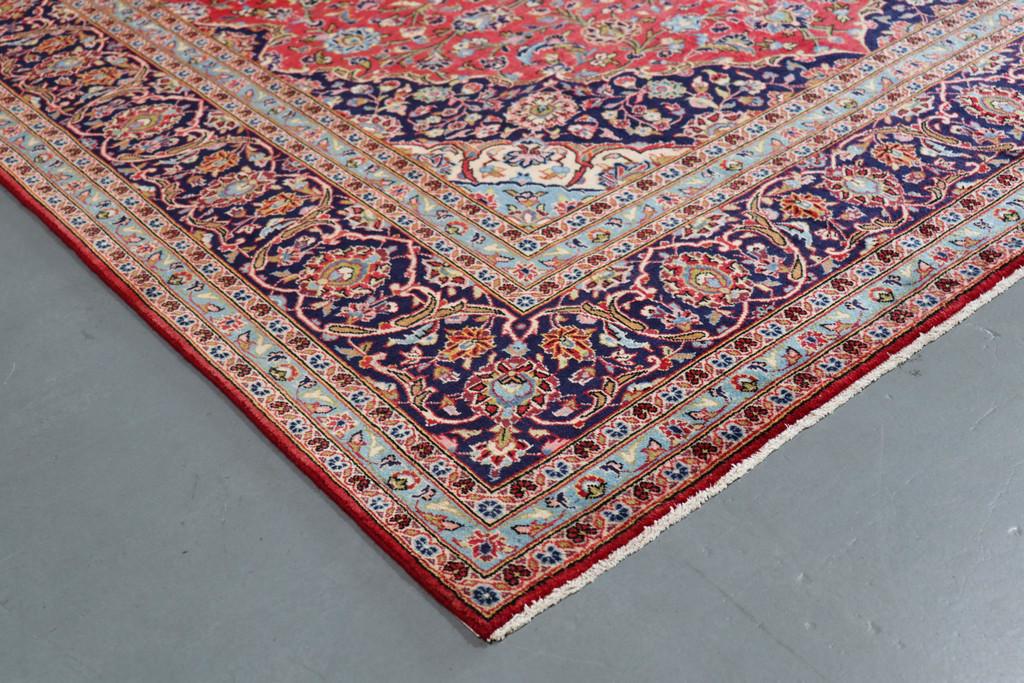 Kashan Mellow Vintage Persian Rug (Ref 179) 360x248cm
