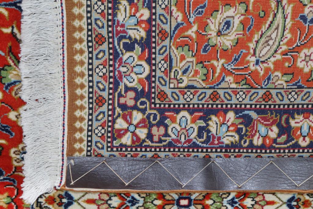 Qum Fine Terracotta Persian Runner (Ref 21) 297x80cm