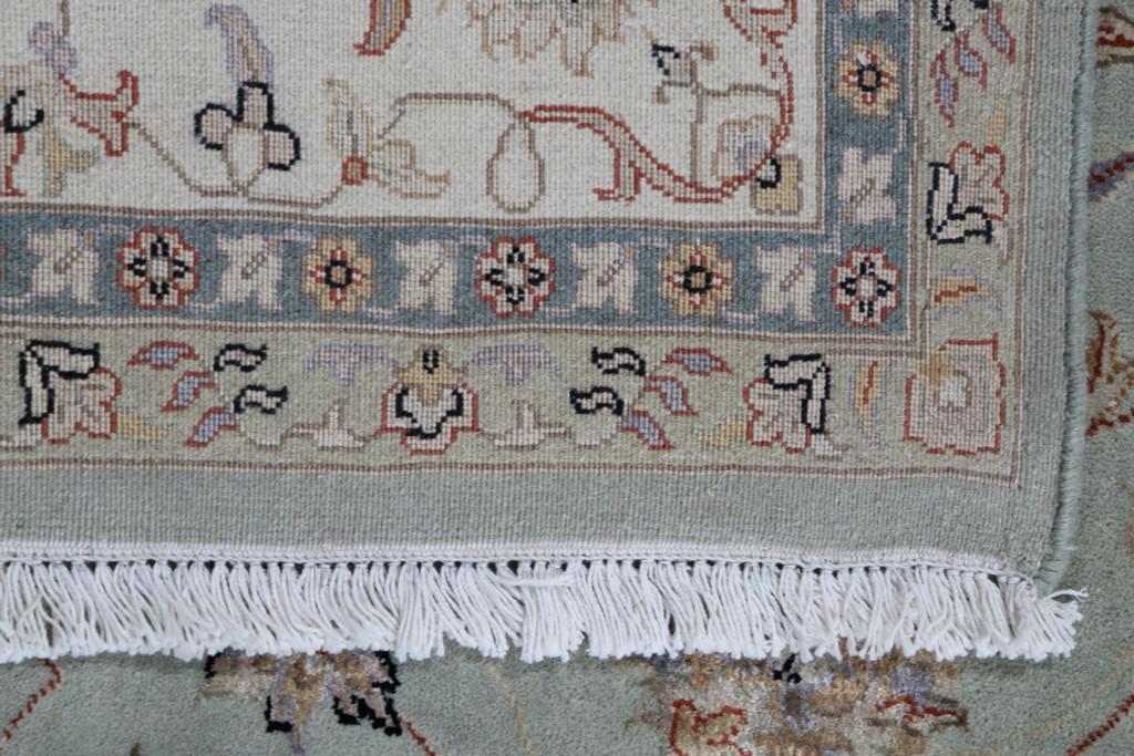 Transitional Wool & Silk Jaipur Rug (Ref 5) 301x195cm