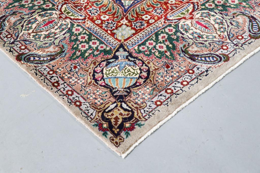 Kashmar Fine Vintage Pictorial Persian Rug (Ref 57) 330x245cm
