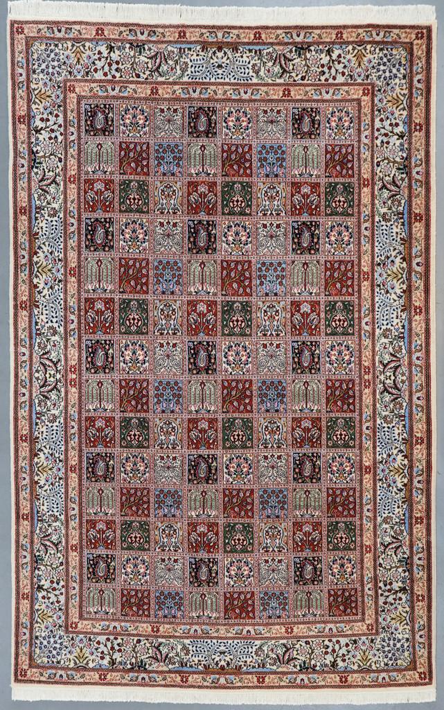 Birjand Paradise Panel Design Persian Rug (Ref 31) 309x197cm