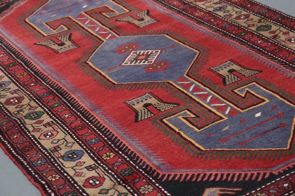 Hamadan Zenjan Vintage Persian Rug (Ref 625) 233x135cm