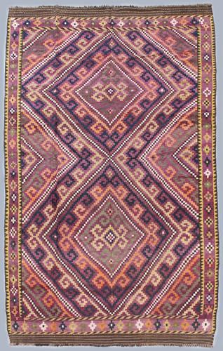 Kyber Mori Vintage Tribal Kilim (Ref 32) 405x224cm